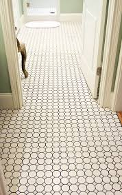 excellent hexagon tile bathroom floor rozelco throughout modern