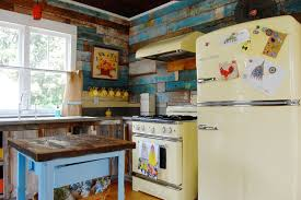 My Houzz Colorful Vintage Finds Fill A Chic Modern Farmhouse Shabby Style
