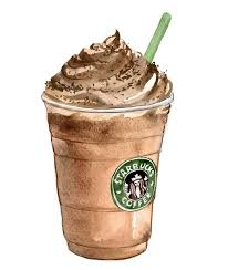 Drawn Starbucks Frappuccino