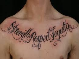 Word Meaningful Tattoos Amazing Tattoo Words For Men Kiinga