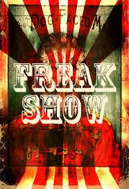 American Horror Story Freak Show Inspired Poster Art