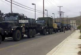 100 Trucks Are Us Amazoncom Photo A Convoy Of US Marine Corps USMC MK23 Medium