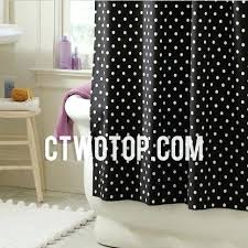shower curtains black and white teawing co