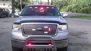 100 Truck Emergency Lights Ford F150 Front Emergency Lights YouTube