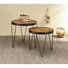 Industrial Honey And Black Nesting Tables (Set Of 2) Nesting Tables Set Of 2 Havsta Gray Josef Albers Tables 4 Pavilion Round Set Zib Gray Piece Oslo Retail 3 Modern Reflections In Blackgold Two Natural Pine And Grey Zoa Nesting Tables Set Of Lack Black White Contemporary Solid Wood Maitland Smith Faux Bamboo