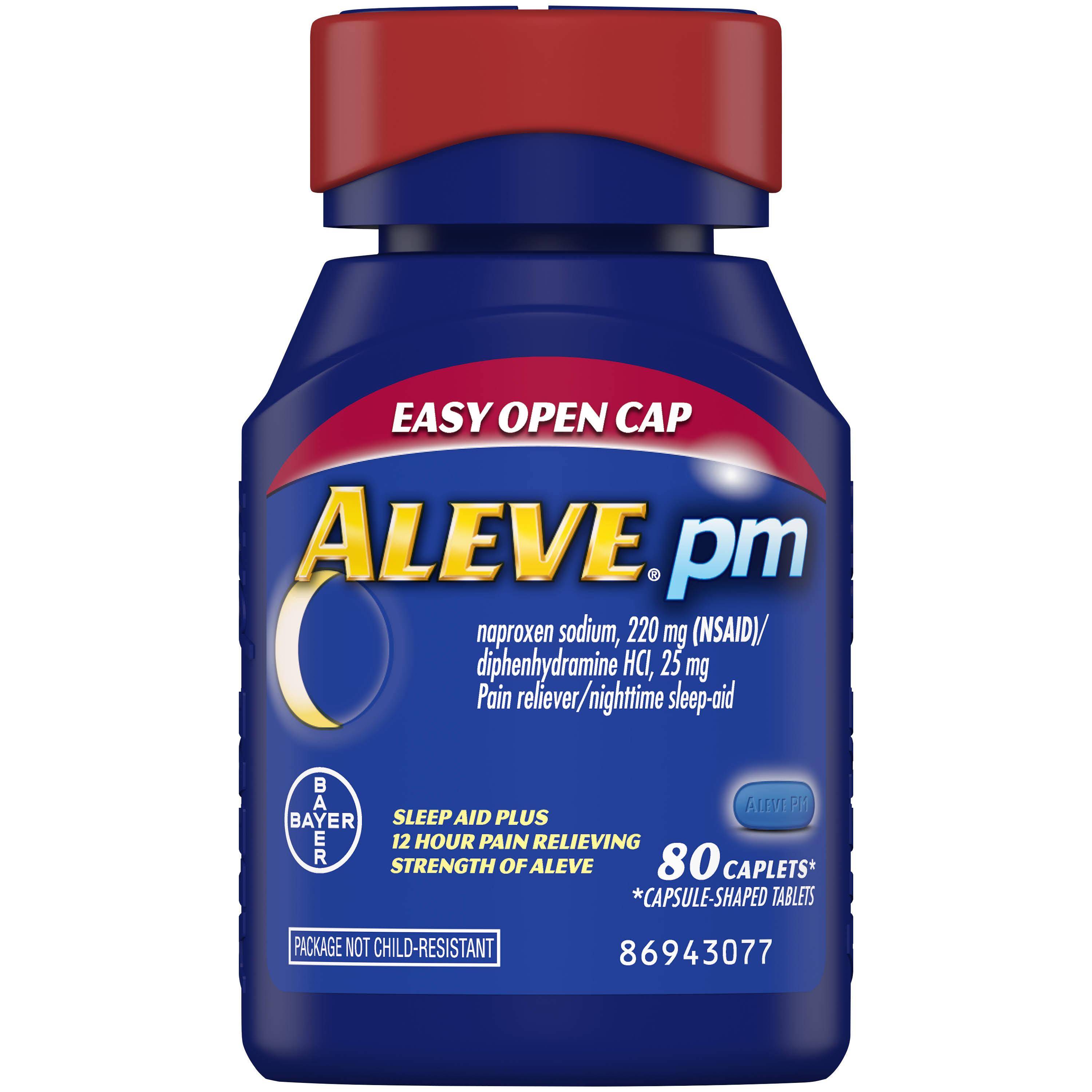 Bayer Aleve PM Naproxen Sleep Aid - 80ct