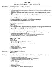 Bakery Associate Resume Samples   Velvet Jobs