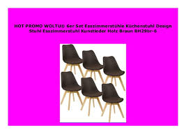 sell woltu 6er set esszimmerst hle k chenstuhl design