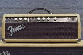 Fender Bassman Cabinet Screws by Vintage 1962 Fender Bassman 6g6 A Brownface Blonde Tolex Amplifier