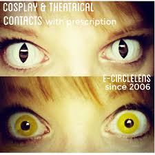 Theatrical Contacts Prescription by E Circlelens Since 2006 Review Of Contact Lenses For Cosplay