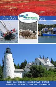 Pumpkin Fiddle Fest Maine by 2016 Blue Hill Peninsula Chamber Guide By Jennifer Rich Issuu