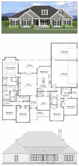 Plan SC 2700 940 4 Or 5 Bedroom 3 Bath Home With
