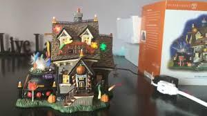 Lemax Halloween Village Ebay by Dept 56 The Candy Cauldron 56 54609 Halloween Original