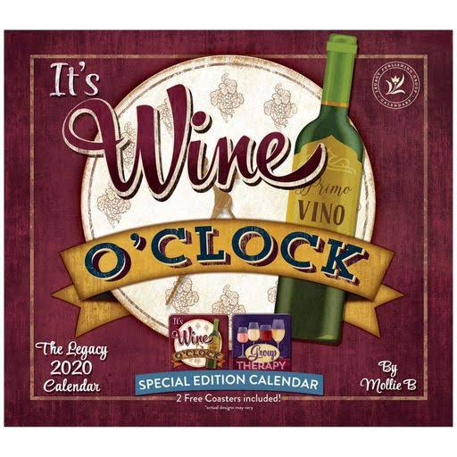 Legacy Publishing Group, 2020 Wine Art Special Edition Wall Calendar