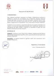 Carta Poder Amplio Peru