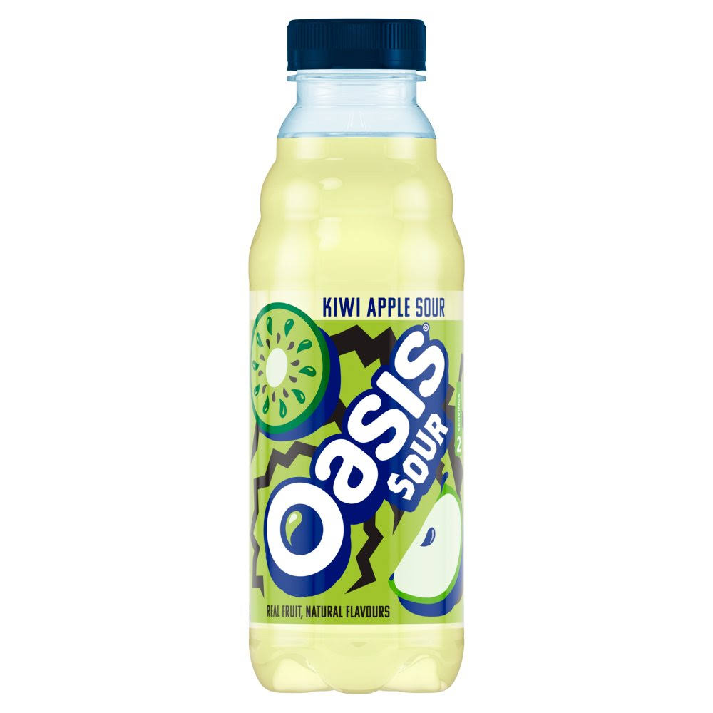Oasis Kiwi Apple Sour Fruit Juice - 500ml