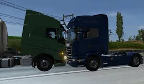 Euro Truck Simulator 2 - Crash Test - Scania - Damage 100% - YouTube Semi Truck Crashes And Jacknifes Youtube Crazy Truck Crash Amazing Trucks Accident Best Trailer Crash Police Chases 4 Beamng Drive Lorry Aberdeen Heavy Recovery Test 2017 Pickup Colorado Tacoma Frontier Big Rig Us 97 Wa 14 Viralhog Euro Simulator 2 Scania Damage 100 Monster Jam 2012 Tampa Compilation 720p Video Into Walmart Store Videos For Kids Hot Wheels Monster Jam Toys Survivor Speaks Out About Semitruck Accident Volving Bus Of Pig Road Repair Vehicles Episode 140