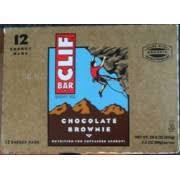 Clif Bar Chocolate Brownie Nutrition