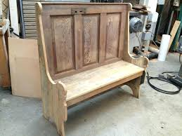 Rustic Wooden Bench With Back Rustic Bench No Back Rustic Farm