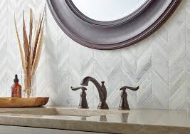 Delta Bronze Bath Faucet by Linden Bathroom Collection