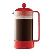 BodumR 8 Cup Brazil French Press Coffee Maker In Red