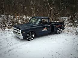 1969 Chevy C10 Short Bed, Lowered, Shop Truck With Pin Striping ...
