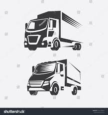 100 Truck Logos Logo Simplified Image Freight Transport Stock Vector Royalty