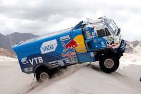 Red Dawn: Russian Dakar Truck | Sir And Sport Magazine