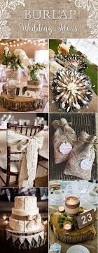 Top 20 Country Rustic Lace And Burlap Wedding Ideas Including Invitations Favors