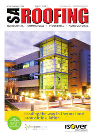 Polystyrene Ceiling Panels Cape Town by Sa Roofing June 2015 Issue 70 By Trademax Publications Issuu