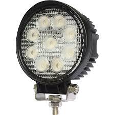 100 Led Work Lights For Trucks 27 Watt LED Lights 4 Round Warning And Emergency Light