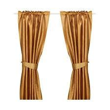 Ikea Aina Curtains Discontinued by Ikea Felicia Curtains Window Drapes 57x98 2 Panels Orange Most