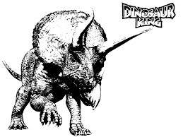 Coloring Page Dinosaur King
