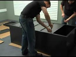 Kobalt Cabinets Vs Gladiator Cabinets by Assembly Instructions For The Gladiator Jumbo Gearbox Youtube