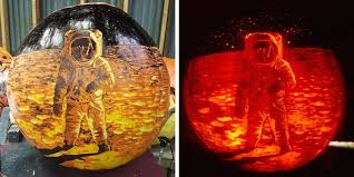 Great Pumpkin Blaze Address by 35 Creative Pumpkin Carvings To Spice Up The Season