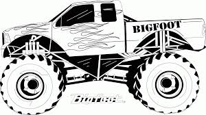 100 Kids Monster Trucks Truck For Coloring Pages For And For