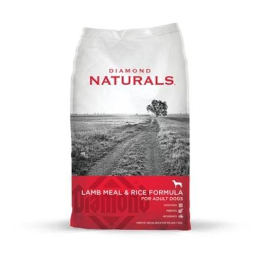 Diamond Naturals Lamb Meal and Rice Formula Grain Free Dry Dog Food - 6lb