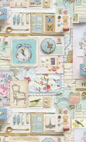 Kitchen Wallpaper Shabby Chic Collection 9 Wallpapers