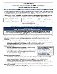 Example Call Center Resume Page 1