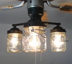 Harbor Breeze Ceiling Fan Light Bulb Change by Vintage Canning Jar Ceiling Fan Light Kit 149 00 Via Etsy