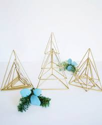 Tabletop Live Christmas Trees by How To Elegant And Oh So Simple Himmeli Inspired Christmas Trees