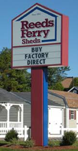 reeds ferry sheds about us