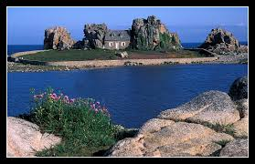 the small house in the rocks a photo from bretagne west trekearth