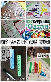 10 Home Made Games For Kids These DIY Look Like So Much Fun