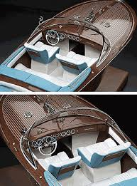 italian runabout 1970 tipo riva aquarama wood model boat kit