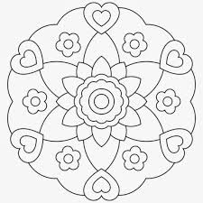 Free Printable Easy Mandala Coloring Pages With Regard To Pertaining