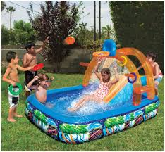 Backyards : Trendy Inflatable Water Slide Outdoor Pool Kids Fun ... Fun Backyard Toys For Toddlers Design And Ideas Of House 25 Unique Outdoor Playground Ideas On Pinterest Kids Outdoor Free Images Grass Lawn House Shed Creation Canopy Swing Sets Playground Swings Slides Interesting With Playsets And Assembly Of The Hazelwood Play Set By Big Installation Wooden Clearance Metal R Us Springfield Ii Wood Toysrus Parks Playhouses Recreation Home Depot Best Toy Storage Toys