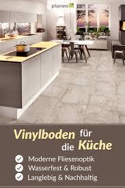 vinylboden in fliesenoptik für die küche wasserbeständig