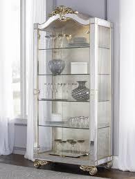 ikea buffet china cabinet dining room corner hutch curio light