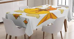 Ambesonne Manly Decor Tablecloth, Man Holding Big Glass Of Beer Floating On  Fish Cartoon Character Foam Clouds Imaginary Art, Dining Room Kitchen ... Large Ding Table Seats 10 12 14 16 People Huge Big Tables Heavy Duty Fniture Mattrses In Milwaukee Wi Biltrite Wow 23 Spacesaving Corner Breakfast Nook Sets 2019 40 Diy Farmhouse Plans Ideas For Your Room Free How To Refinish Chairs Overstockcom To A Kitchen Vintage Shabby Chic Style 8 Small Living That Will Maximize Space Fast Food Hamburgers From The Chain Mcdonalds Are Provided Due Walmartcom Lancaster Solid Wood 5piece Set By Eci At Dunk Bright Why World Is Obssed With Midcentury Modern Design Curbed Recliners Pauls Co